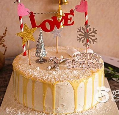 平安夜淋面蛋糕