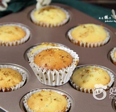 蜂蜜桂花小蛋糕
