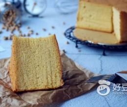 黄豆粉戚风蛋糕
