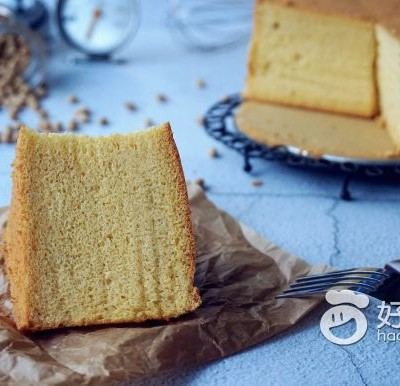 黃豆粉戚風蛋糕