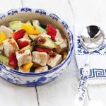 红油冻豆腐