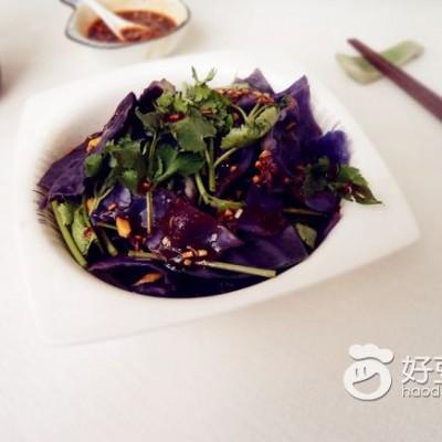 麻辣紫甘蓝