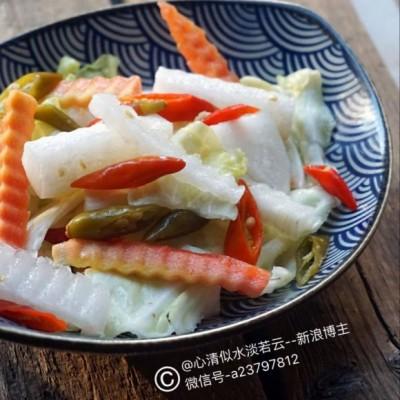 自制重庆跳水泡菜