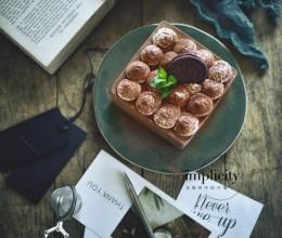 奥利奥巧克力慕斯蛋糕