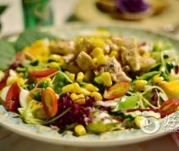 煎鸡胸沙拉