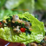 蚬肉生菜包