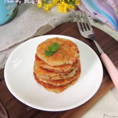 電餅鐺食譜-土豆鱈魚餅