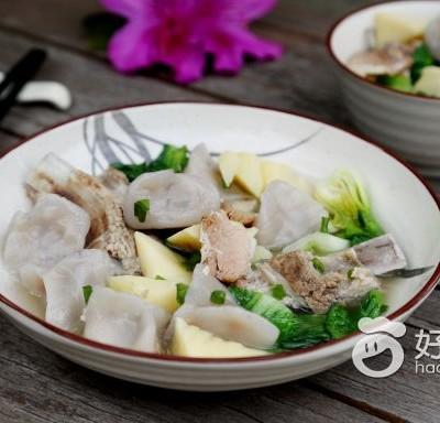 腌篤鮮芋餃
