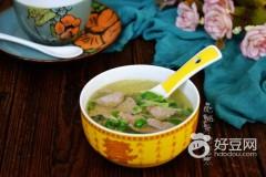 黑豆苗猪肝汤
