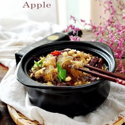 猪血砂锅煲