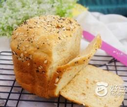 胡萝卜全麦吐司面包