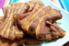 熏干豆腐串