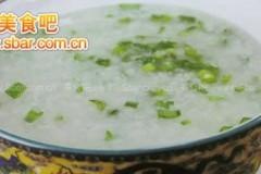 菜谱:香韭粳米粥的做法