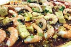 庄臣食单:豆瓣酱虾仁豆腐