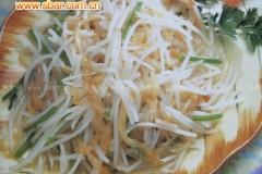 菜谱:蜇皮豆芽菜的做法