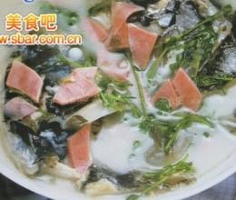 菜谱:清炖鲢鱼头的做法