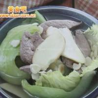 菜譜:潤燥補腎豬肝湯的做法