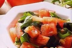 湖南特色菜:番茄砂糖藕
