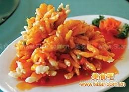 泰汁菊花鱼