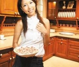 美女厨房清蒸香菇猪肉丸