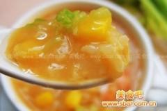 香甜玉米虾粥