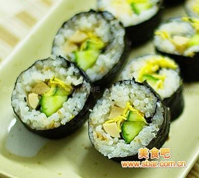 紫菜包饭的做法【图解】_紫菜包饭的家常做法_紫菜做