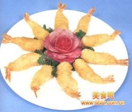 玻璃酥虾的做法