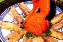 干炸五香果肉的做法