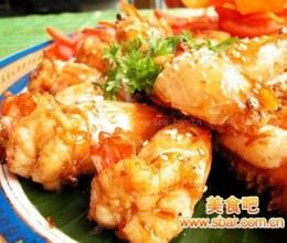 干烧对虾的做法