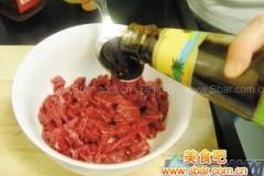 彩椒牛柳的做法