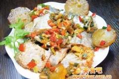 香焖萝卜带鱼的做法