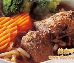 甘肃清汤牛肉面的做法