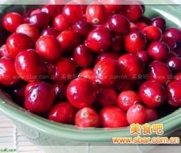 小红莓果酱的做法