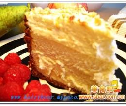 烤榛子仁百利甜酒芝士蛋糕