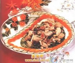 核桃仁炒鸡