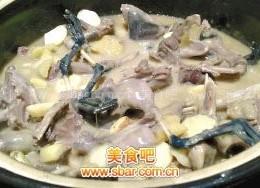 老姜焖水鸡水鸭
