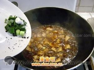 麻婆豆腐的制作方法