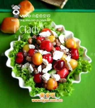 DIY清爽乳酪蔬果沙拉