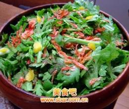 蓬蒿菜沙拉
