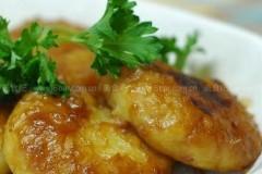 酱烧红薯糯米饼的做法