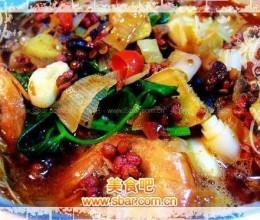 香辣盆盆虾的做法--很辣哦