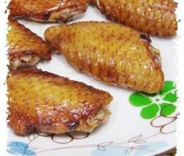 微波炉烧烤档做烤鸡翅