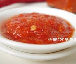蒜蓉辣椒酱的做法