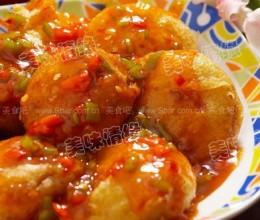 金沙番茄的做法
