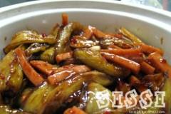 蚝油茄子煲的做法