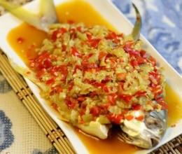 泡椒蒸金昌鱼的做法