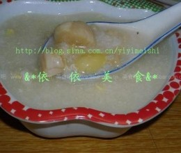 白果瑶柱粥的做法