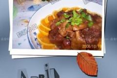 百叶结烧肉