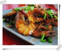 红烧基围虾的做法