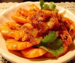 茄汁明虾的做法